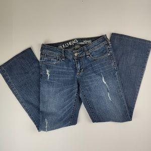 Bullhead Palisades Classic Flare Jeans Size 7